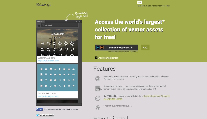 BlednMein,pictura, free plugin, photoshop plugin, design shortcut, startup design