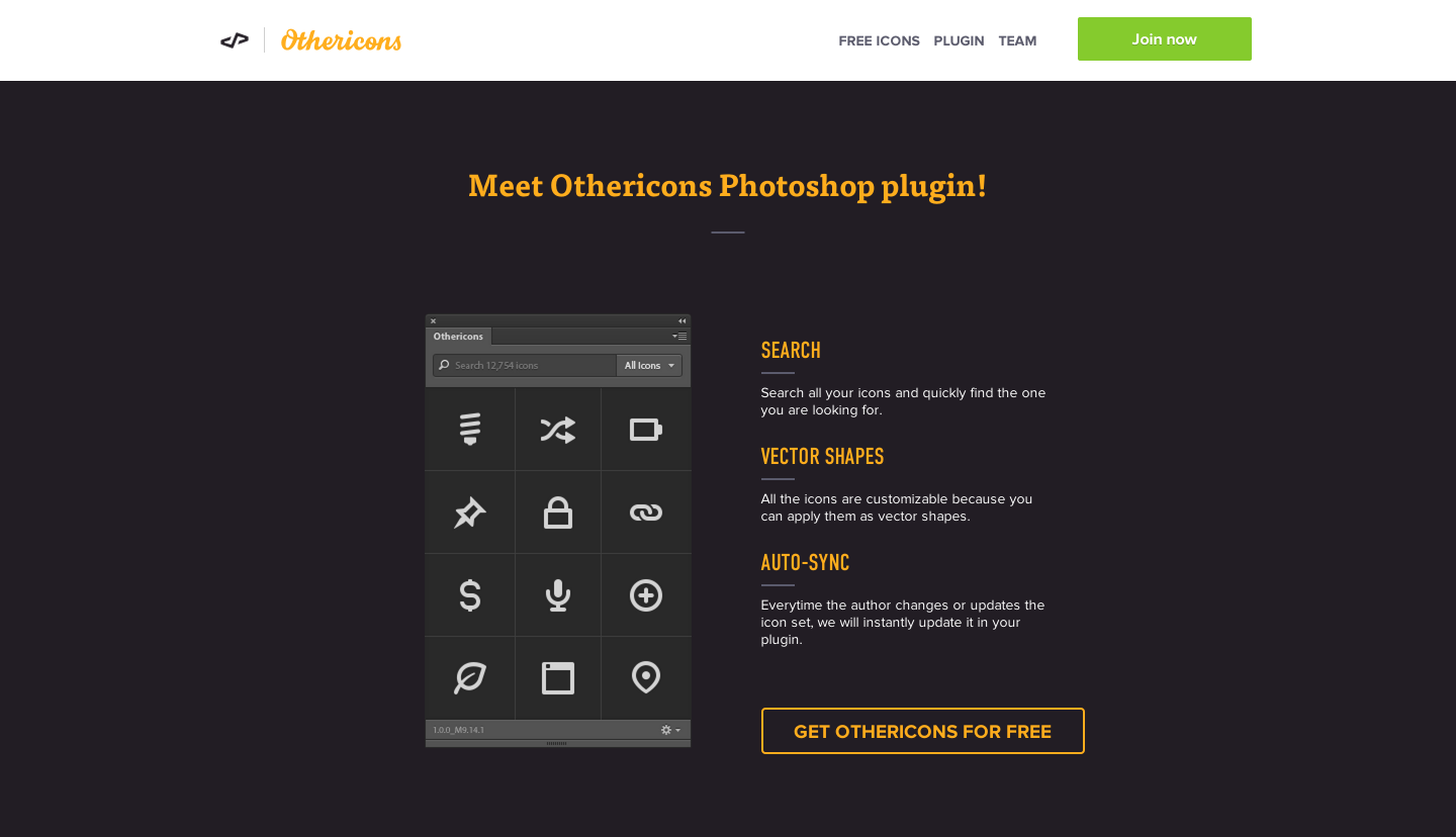Other Icons, Free plugin, photoshop plugin, design for startups, UI design shortcuts