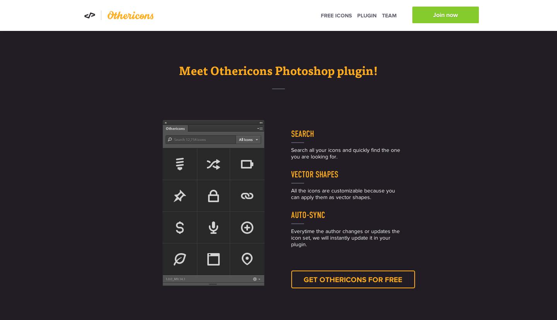 Other Icons, Free plugin, photoshop plugin, design for startups, UI design shortcuts